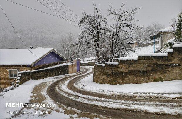 روز برفی در «کردآباد»
