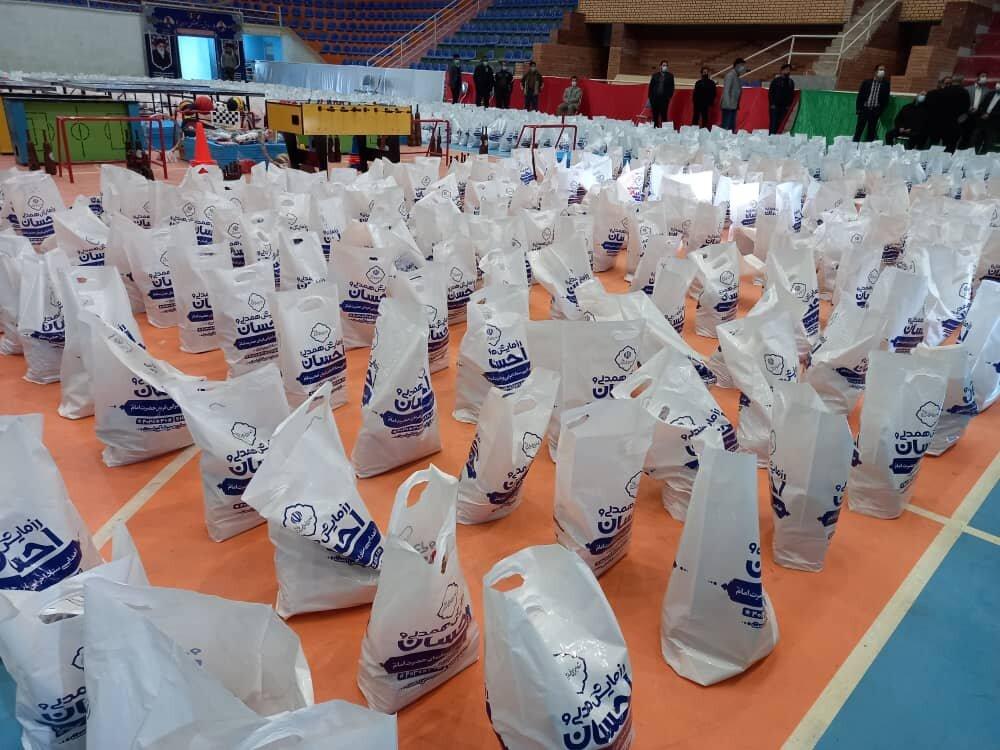 توزیع ۱۵۰۰ بسته معیشتی در بین خانوادههای ورزشکاران متضرر از کرونا