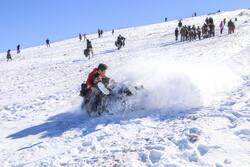 خراسان شمالی میں برف کے شاندار مناظر