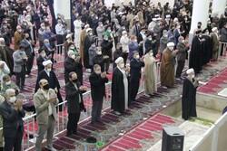 اقامه دومین نماز عبادی سیاسی جمعه قم با رعایت اصول بهداشتی