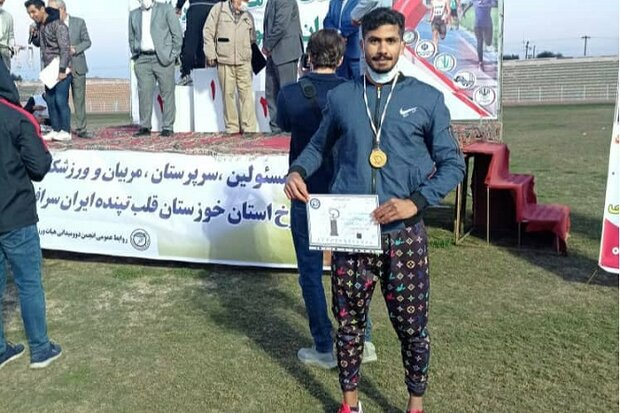 ورزشکار بوشهری قهرمان مسابقات دو و میدانی کارگران کشور شد