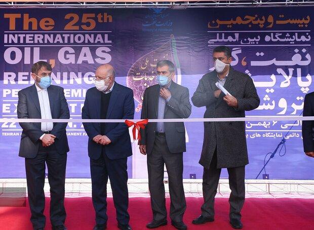 25th Iran Oil Show opens in Tehran