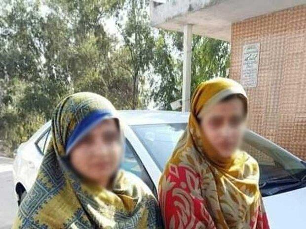 پاکستان میں پولیس نے  کار چوری میں ملوث 2 بہنوں کو گرفتارکرلیا
