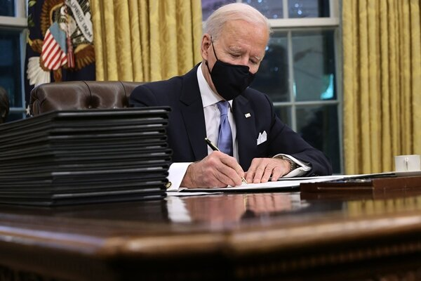 Biden weighs easing pressure on Iran without lifting sanction
