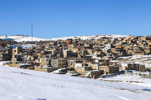 طبیعت زیبای برفی خراسان شمالی مردم خسته از کرونا را به دامن خود کشید