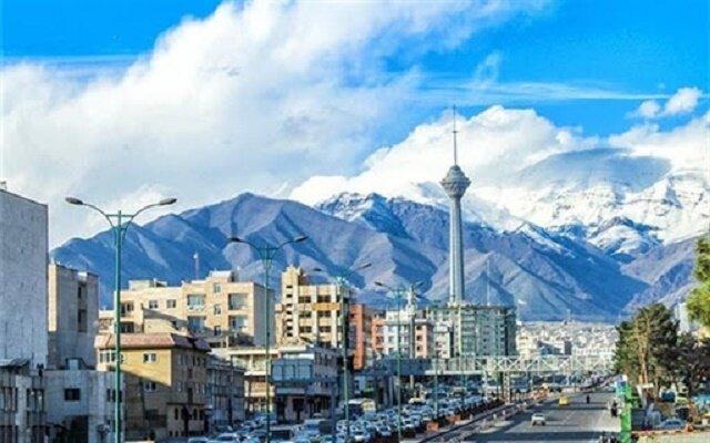 کیفیت هوای تهران در مرز «پاک» قرار دارد