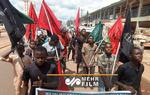 Nijerya'da Şeyh Zakzaki'nin eşi için destek gösterisi