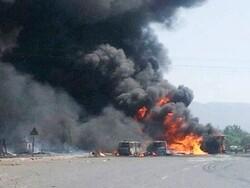 بھارت میں بارودی مواد لے جانے والا ٹرک میں دھماکے سے 8 افراد ہلاک