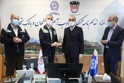 انعقاد دو تفاهمنامه ارزی و ریالی بین بانک تجارت و ذوب آهن اصفهان