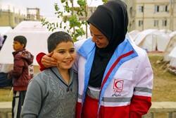 حضور تیمهای حمایت روانی هلال احمر در منطقه زلزله زده سی سخت/ حمایت اجتماعی از کودکان انجام میشود