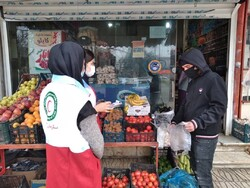 ناظران سلامت هلال احمر بر ۲۶ هزار واحد صنفی زنجان نظارت کردند