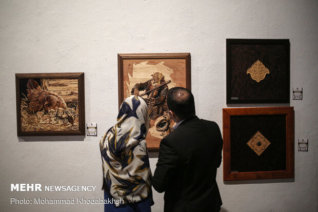 "12th ""Hima"" wooden illustrations exhibition in Tehran"