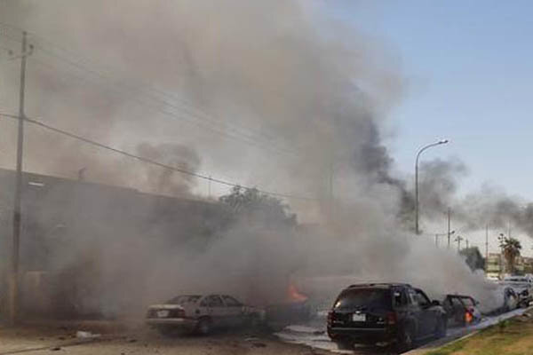 استهداف منزل قائد طيران الجيش العراقي في بغداد