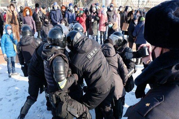 Rusya'da Navalni protestoları başladı