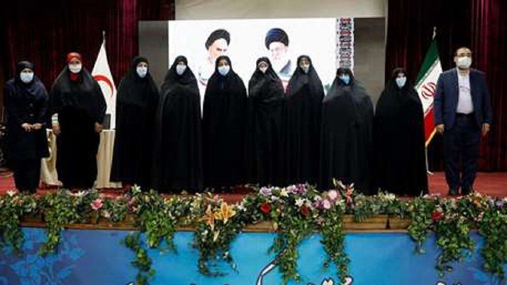 آیین تجلیل از زنان امدادگر  دوران دفاع مقدس برگزار شد
