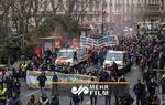 Fransa'da hükümetin politikaları protesto edildi