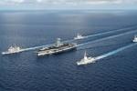 ناوگروه تهاجمی آمریکا وارد دریای چین جنوبی شد