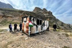 دومین مصدوم حادثه آتش سوزی کانکس معلمان درسردشت دزفول هم جان باخت