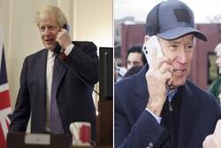 Biden ile Johnson telefonda İran'ı görüştü