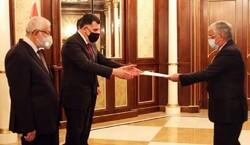 سفير ايران المفوض يقدم أوراق اعتماده لرئيس حكومة الوفاق الليبي