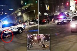 US police car runs over pedestrians in Seattle (+VIDEO)