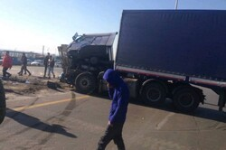تصادف در آزادراه کرج - قزوین ۵ مصدوم برجا گذاشت