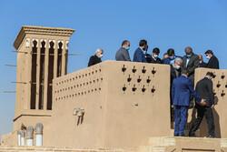 İran Turizm Bakanı Yezd'in turizm bölgelerini inceledi