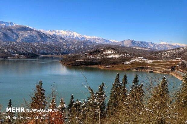 Breathtaking scenery of Alborz Dam in N Iran