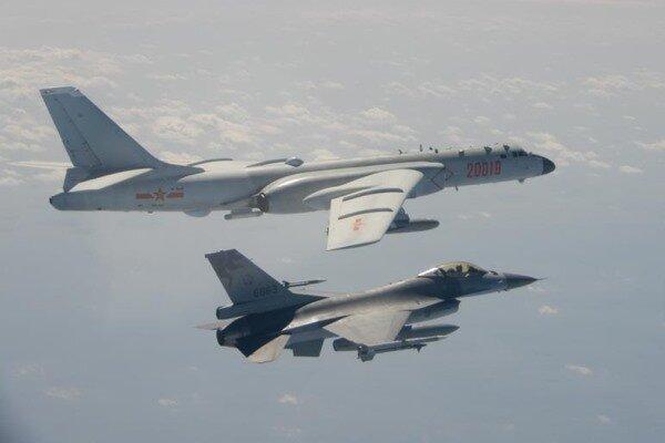 نیروی هوایی چین آسمان تایوان را قبضه کرد