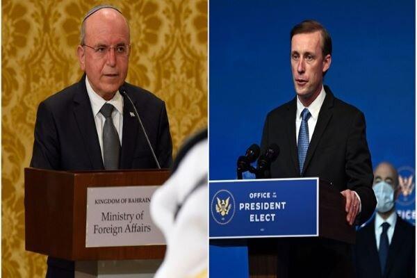 US, Zionist National Sec. Advisers discuss Iran in phone call