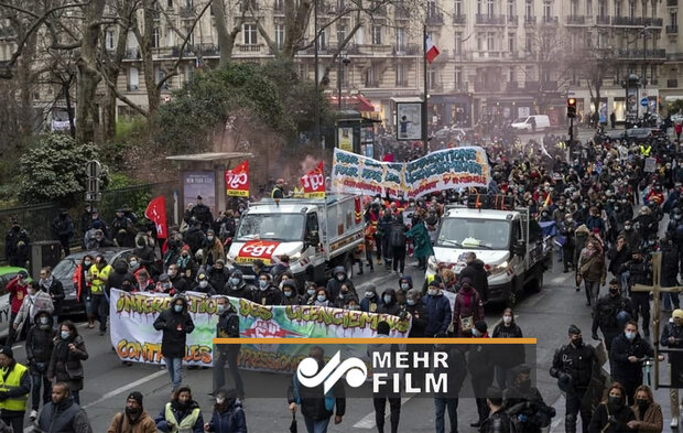 VIDEO: People in France stage protests against unemployment