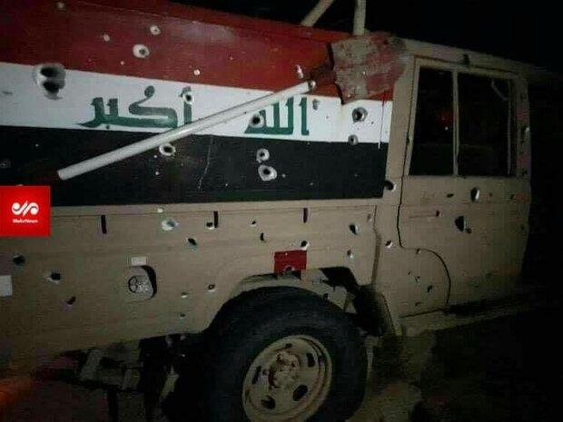 حمله به نیروهای حشد شعبی با حمایت مستقیم آمریکا صورت گرفت