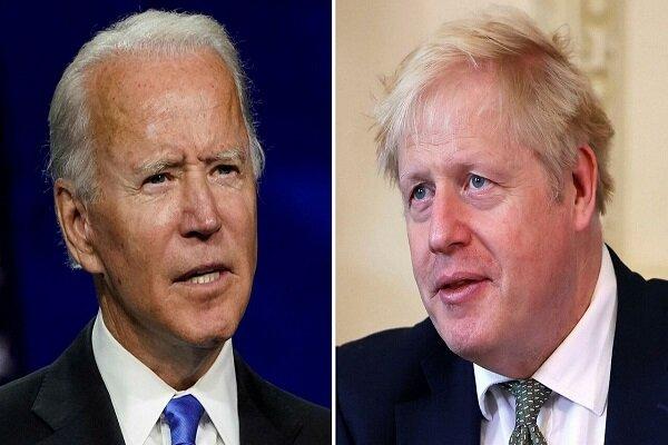 Biden, Johnson discuss policies towards Iran, China, Russia
