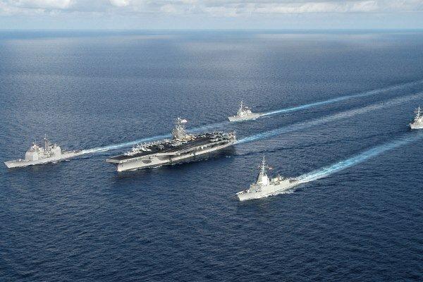 US aircraft carrier enters China Sea amid Taiwan tensions
