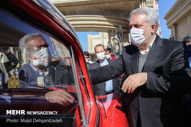 سفر مونسان وزیر میراث فرهنگی و گردشگری به یزد