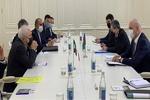 Iran's Zarif, Azerbaijan's Mustafayev confer on mutual ties