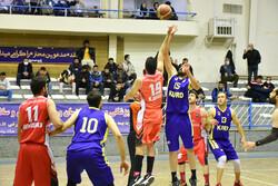 İran basketbol 1. lig müsabakaları Senendec'de yapıldı