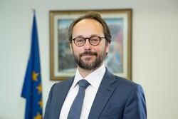 سفیر اتحادیه اروپا گشایش سفارت رژیم صهیونیستی در امارات را تبریک گفت