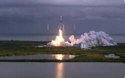 اسپیس ایکس ۱۴۳ ماهواره به مدار زمین برد