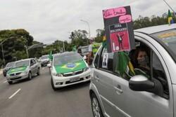 Brazilians take to streets calling for Pres. impeachment