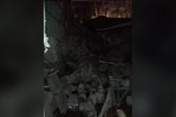 Severe blast collapsed a building in Azerbaijan's Khirdalan