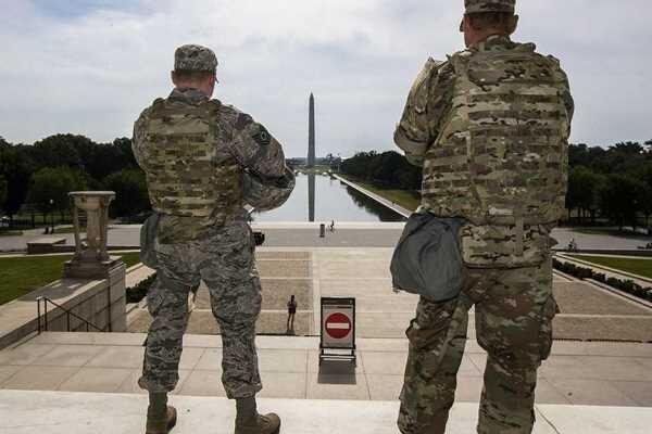 تداوم حضور ۵ هزار نیروی گارد ملی برای تأمین امنیت کنگره آمریکا