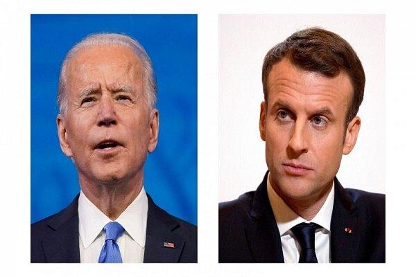Biden talks with Macron on Iran, China, Russia
