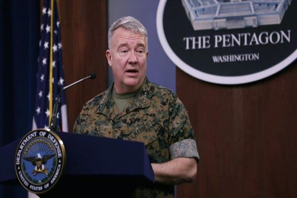 Head of CENTCOM terrorists repeats US' anti-Iran claims