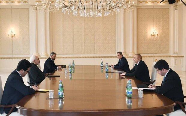Aliyev welcomes Iran's participation in rebuilding Karabakh