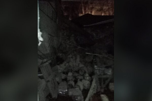 Severe blast collapsed a building in Azerbaijan's Khirdalan