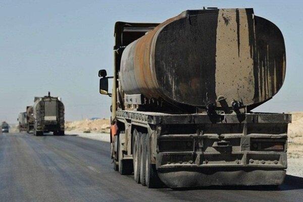 تداوم غارت نفت سوریه توسط نیروهای اشغالگر آمریکا