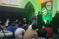 آرامش و امنیت منطقه مدیون مجاهدتهای سردار سلیمانی است