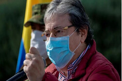 وزیر دفاع کلمبیا درگذشت