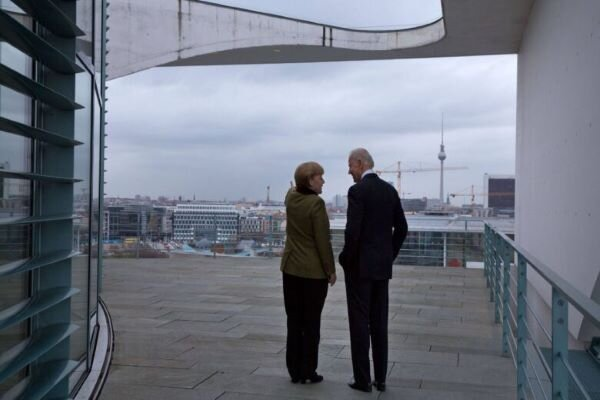 Merkel, Biden discuss Iran in first phone call